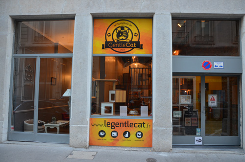 devanture gentlecat bar a chat the lyon 2